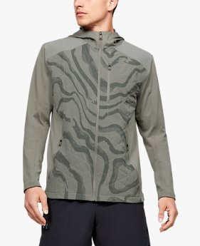 Men's ColdGear® Reactor Hybrid Lite Print Jacket